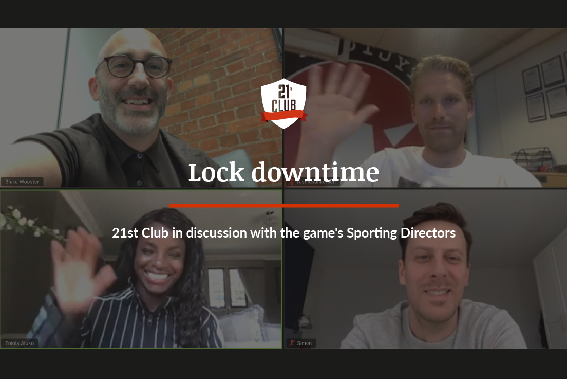 Lock-downtime: 21st Club in discussion with the game's Sporting Directors