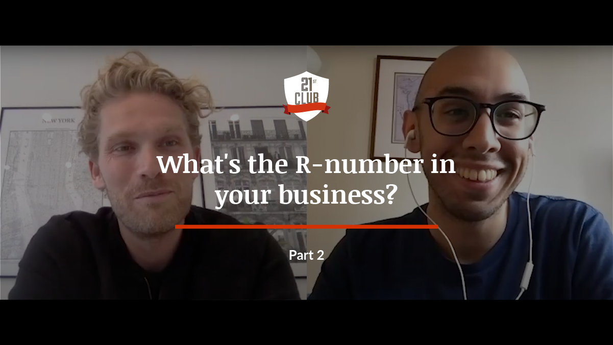What's the R number in your sports organisation? Part II